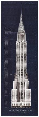 Chrysler Building Prints by William Van Alen