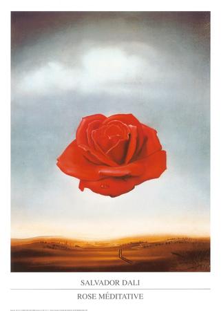 Rosmeditativ, ca 1958 Affischer av Salvador Dalí