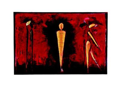M-4 (Red) Prints by Heinz Felbermair