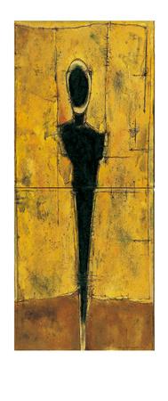 Untitled (Yellow) Print by Heinz Felbermair