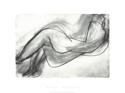 Nu Couche de Dos, c.1944 Serigraph by Henri Matisse