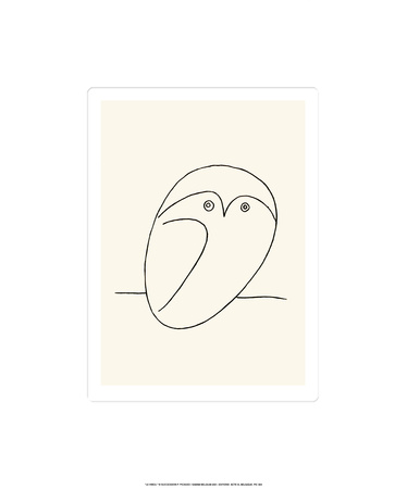 Owl Serigraph by Pablo Picasso