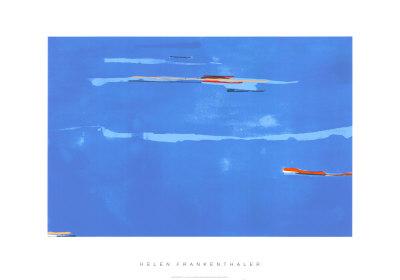 Ocean Drive West No. 1, c.1974 セリグラフ : ヘレン・フランケンサーラー