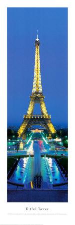 Eiffel Tower, Paris, France Print by James Blakeway