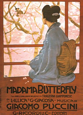 Puccini, Madama Butterfly Art