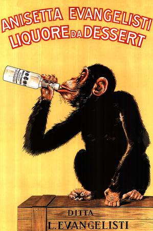 聖アニゼット・リキュール - 甘いリキュール ポスター