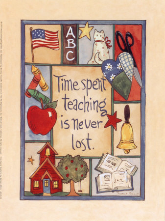 Time Spent Teaching Posters by Barbara Mock at AllPosters.