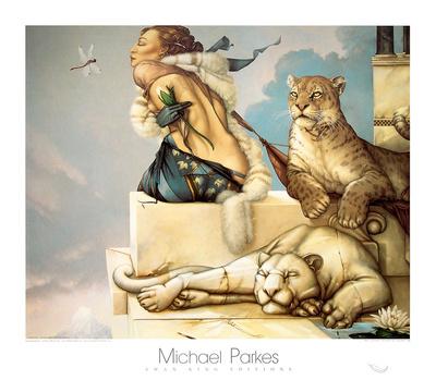 Deva Poster by Michael Parkes