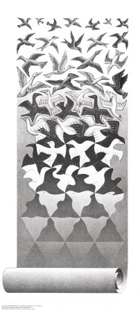 Liberation Art by M. C. Escher