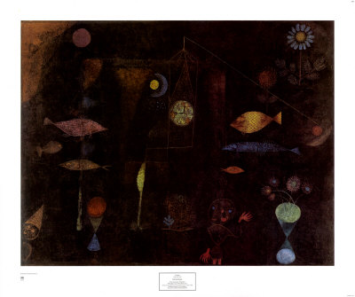 Fish Magic Posters by Paul Klee
