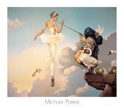 Leda's Daughter Prints by Michael Parkes