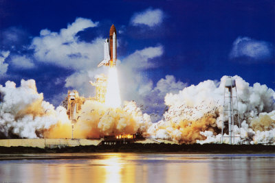 Space Shuttle Take Off Prints by Roger Ressmeyer
