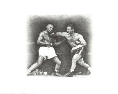 Rocky Marciano: the Punch Plakater af Allen Friedlander