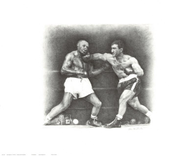 Rocky Marciano: the Punch Poster Print