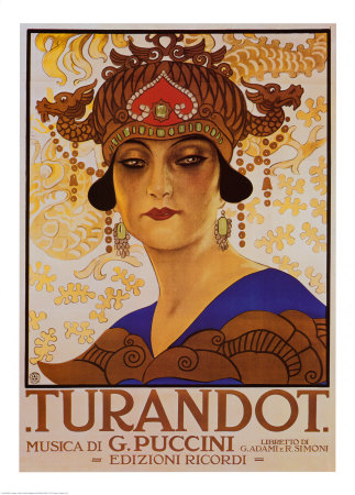 Puccini - Turandot Reproduction d'art