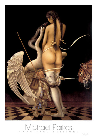 Puppetmaster Prints by Michael Parkes