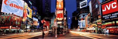 New York, Time Square Poster