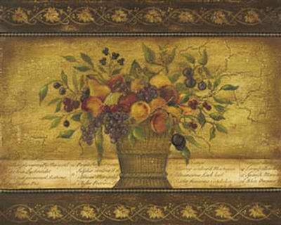 Old World Abundance II Print by Kimberly Poloson