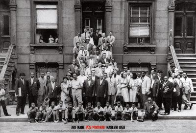 ジャズ・ポートレイト - ハーレム, ニューヨーク, 1958 ポスター : アート・ケイン