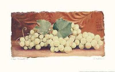 Grape Harvest II Art by Amy Melious