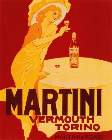 Martini and Rossi Prints