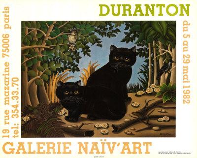 Black Cats Art
