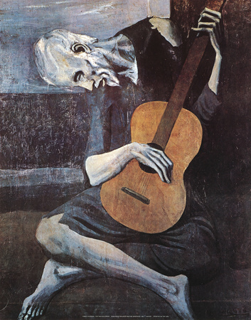 The Old Guitarist, c.1903 Posters by Pablo Picasso