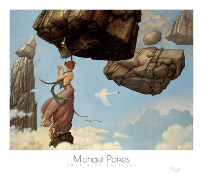 Maria Print by Michael Parkes