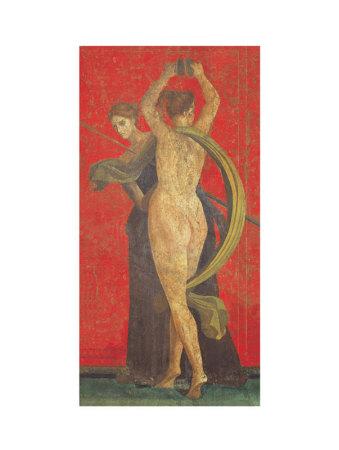 Pompei Donna Flagellata Prints