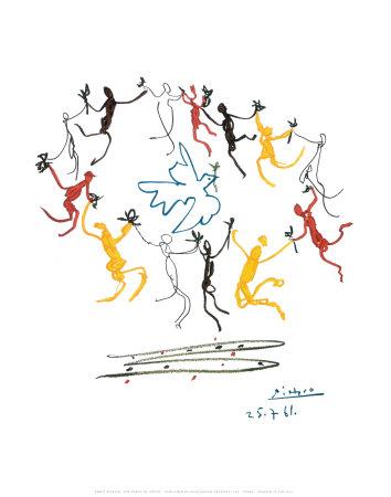 Dans van de jeugd Affiches van Pablo Picasso