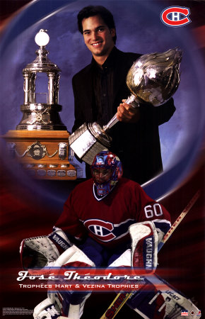 Jose Theodore - Montreal Canadiens Prints