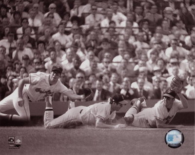 Brooks Robinson  - Multi-Exposure - Photofile Photo