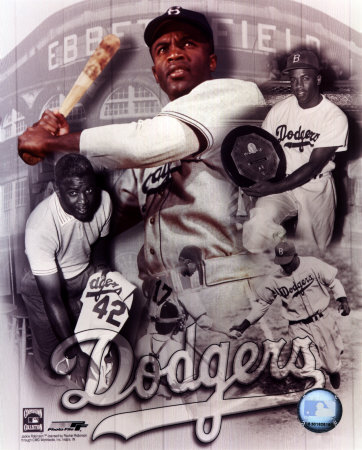Jackie Robinson Legends Composite - Photofile Photo