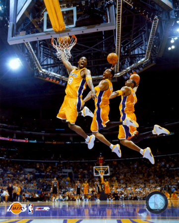 kobe bryant pictures. Kobe Bryant Multiple Exposure