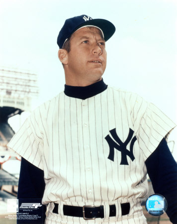 Mickey Mantle - 9 Waist Up Photo