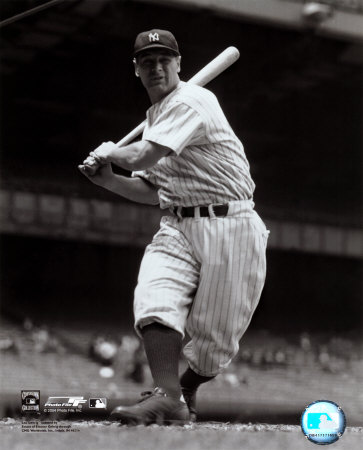 Lou Gehrig Photo