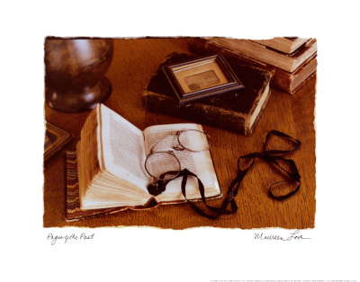 Pages of the Past Art by Allan Bruce Love