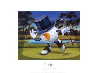 Birdie Prints by Bob Commander