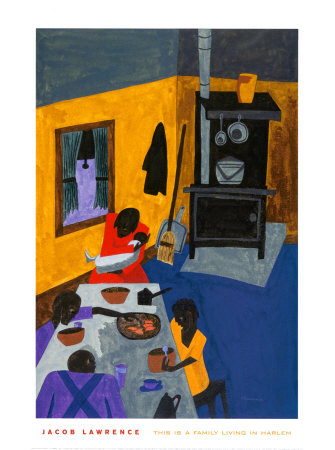 This Is a Family Living in Harlem, 1943 Posters by Jacob Lawrence