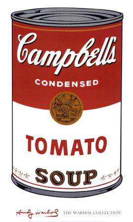 Campbell's Soup I: Tomato, c.1968 Art Print