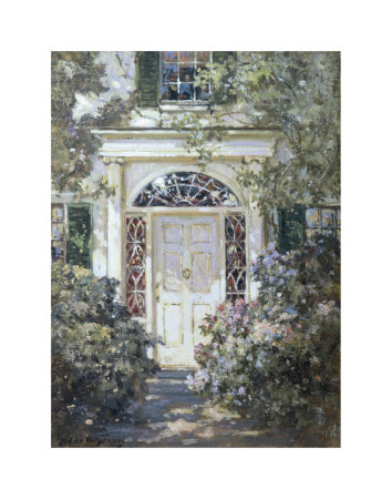 Doorway, 19th Century Prints by Abbott Fuller Graves