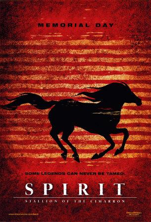 Spirit- Stallion of the Cimarron Print