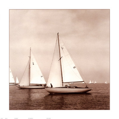 Sailing VI Art Print