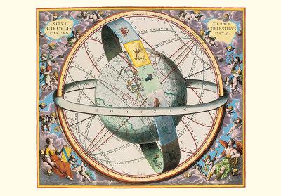 The Celestial Atlas Art by Andreas Cellarius
