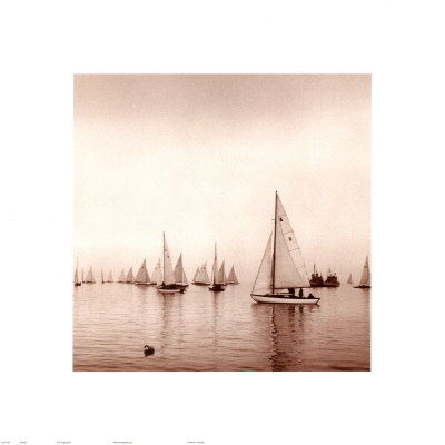 Sailing I Prints