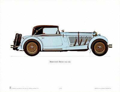 1928 Mercedes-Benz Posters