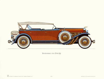 1929 Duesenberg Art