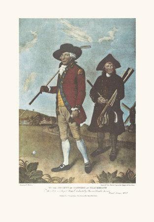 Blackheath Golfer Print by Lemuel Francis Abbott