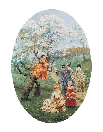 Orchard Art by Maurice Leloir