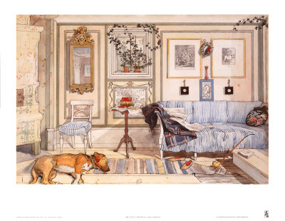 Cozy Corner Posters by Carl Larsson
